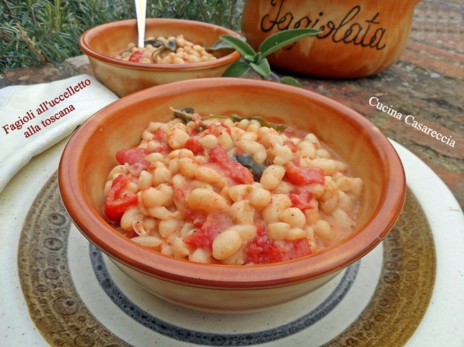 Fagioli all'uccelletto alla toscana