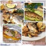 Pesce arrosto al forno e al cartoccio scuola di cucina