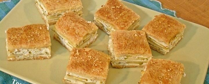 Torta salata di ricotta zucchine e patate