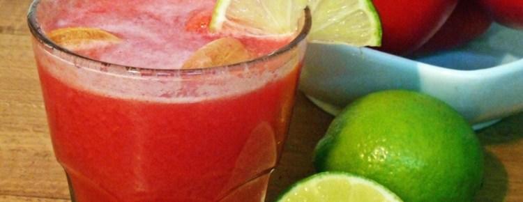 Succo di pomodoro e lime