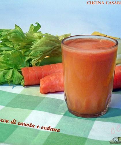Succo di carote e sedano