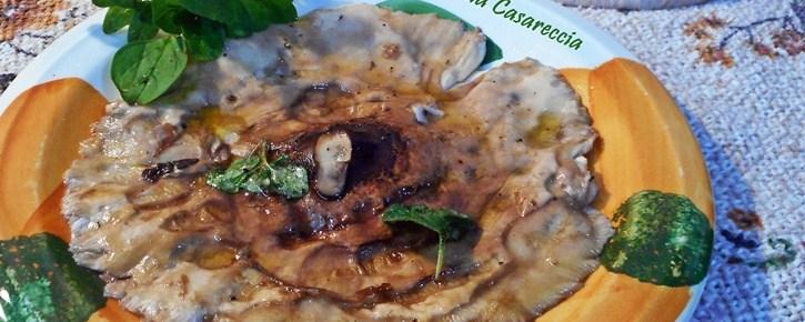 Funghi Bubbole alla piastra