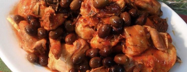 Coniglio con le olive
