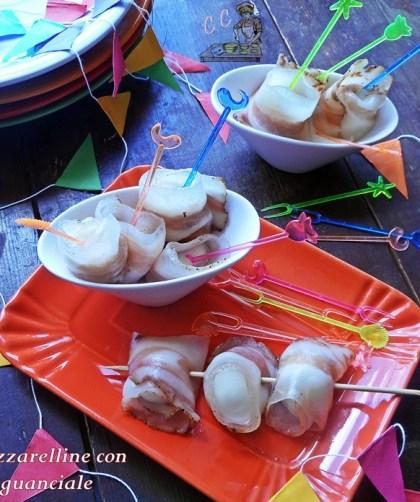 Mozzarelline al forno con guanciale ricetta veloce semplice