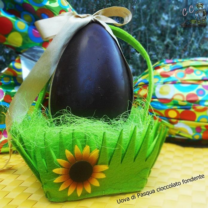 Uova di Pasqua preparate in casa