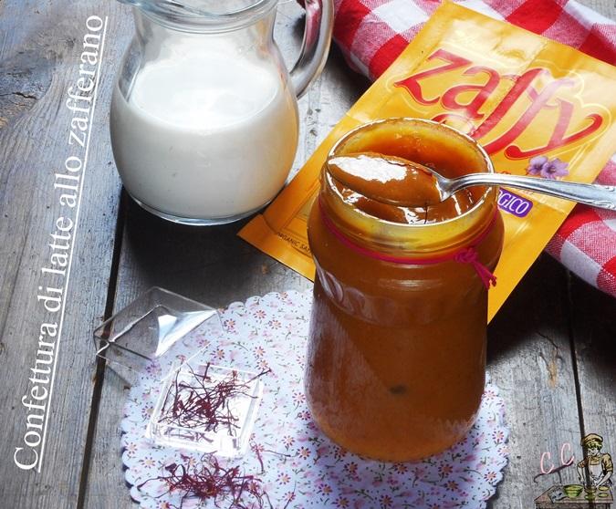 Confettura di latte allo Zafferano