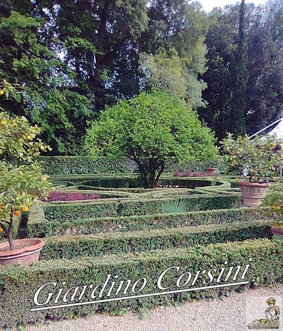 Il Palazzo ed il Giardino Corsini sul Prato in Toscana