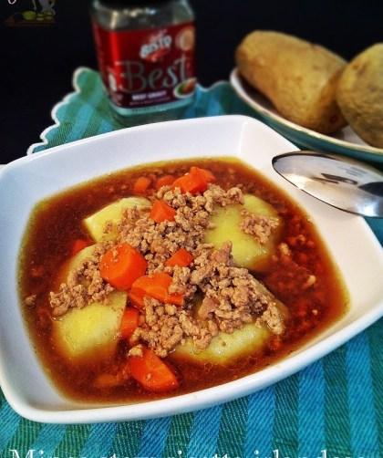 Mince stew ricetta irlandese