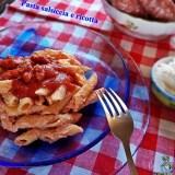 Pasta salsiccia e ricotta