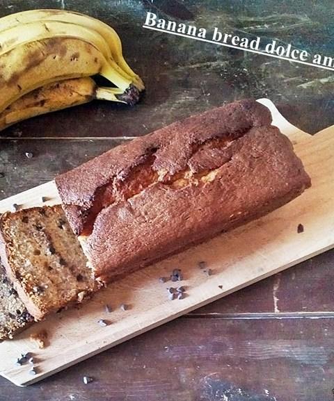 Banana bread dolce americano