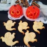 Fantasmini di Halloween senza uova nè burro