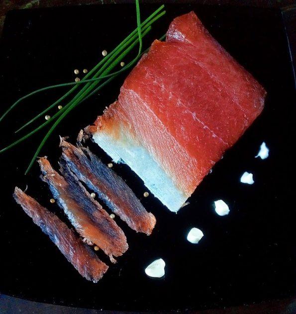 Salmone marinato preparato in casa