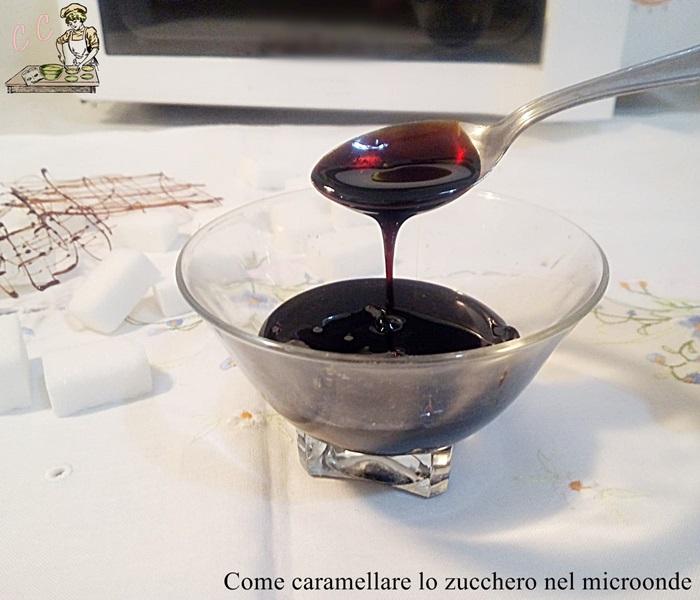 Come caramellare lo zucchero nel microonde