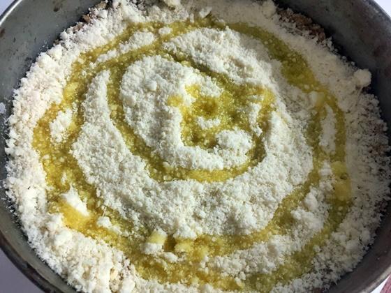 Torta salata con farro
