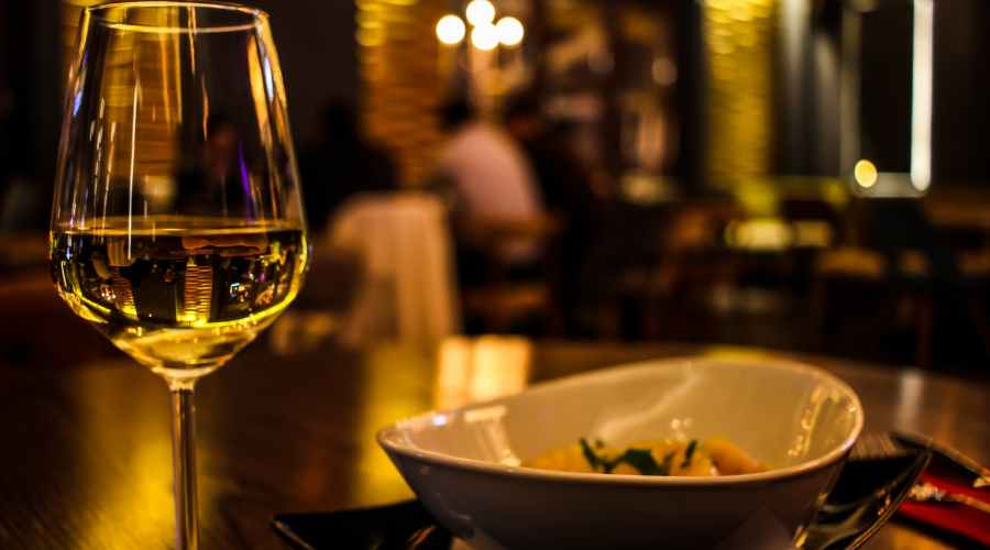 blur close up cutlery dining