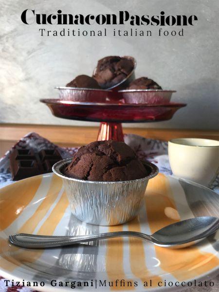 muffins al cioccolato Muffins al cioccolato Muffins al cioccolato