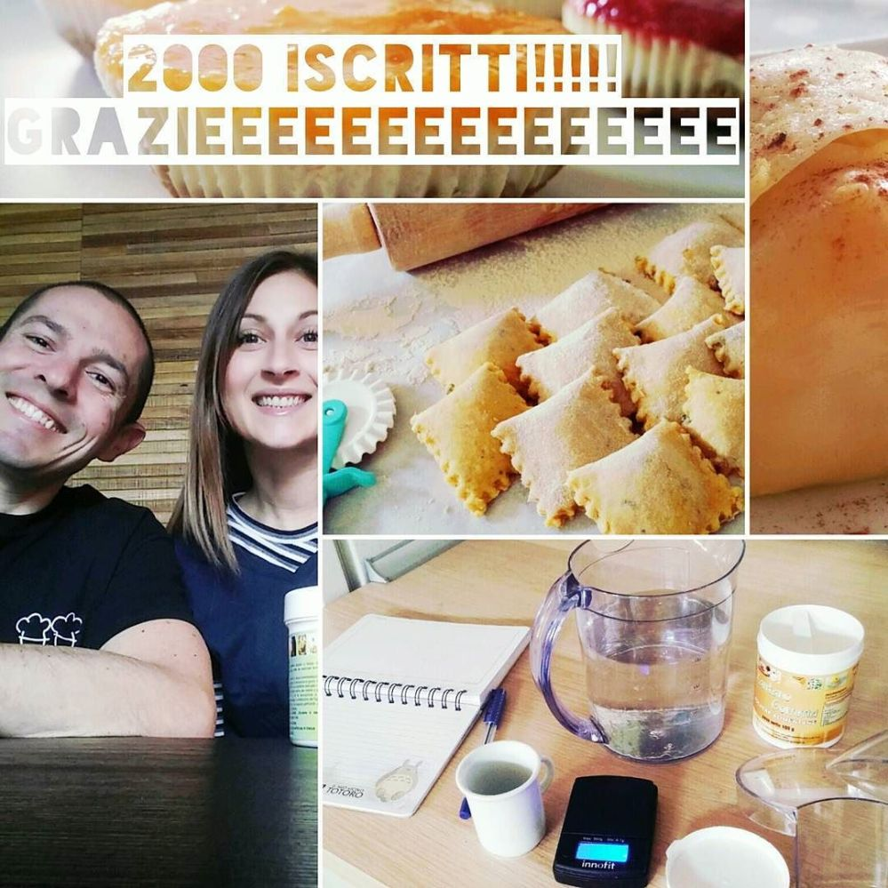 2000 iscritti al canale youtube di cucina dulight!!! #youtube #youtubers #channel #ricette #video #food #dukan #diet #lightfood