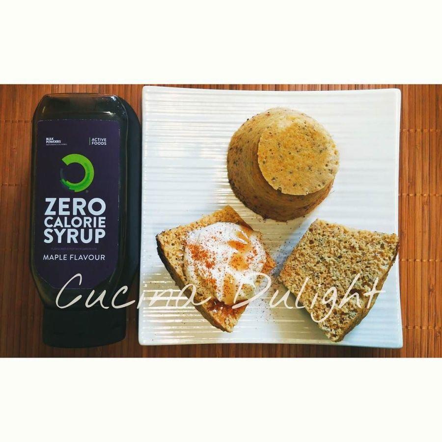 #dulight #cucinadulight #dukan #dukandiet #mugcake #bulkpowders #syrup #proteins #breakfast #quark #oatbran #healthy
