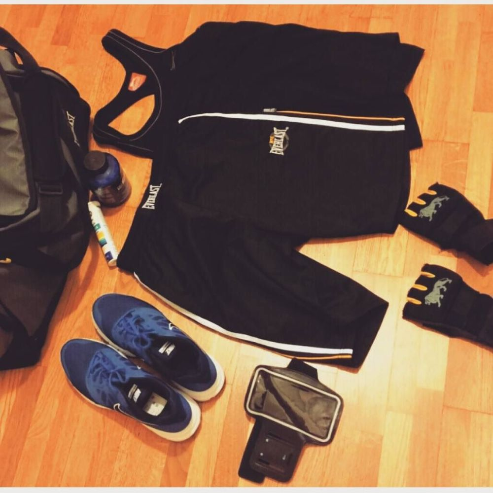 Ready to work(out)!!! #dulight #vividulight #workout #fitness #sevuoipuoi #lonsdale #everlast #weightloss #training #stayhealthy