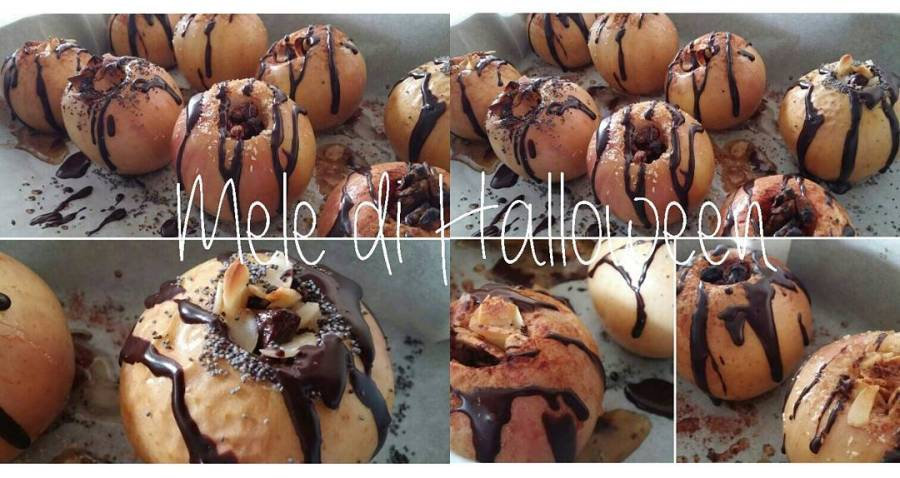 #video #videoricette #halloween #apple #sweet #youtube #youtubechannel #chocolate #dolce #lightfood #dukan #diet