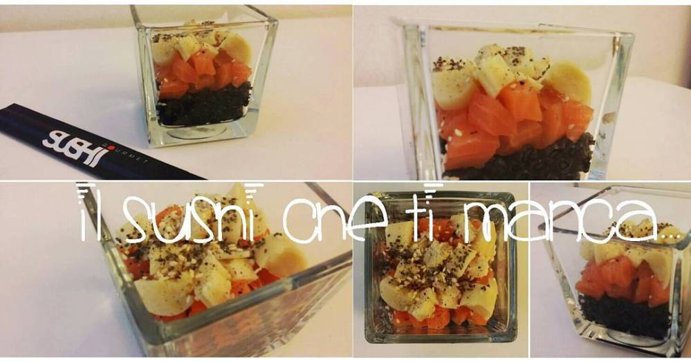 Nuova video ricetta!! #youtube #youtubechannel #video #videoricette #risino #konjac #nerodiseppia #tartare #salmon #cuoredipalma #dukan #diet #crociera #food #lightfood #chef #cheflife #cooking #cucinadulight