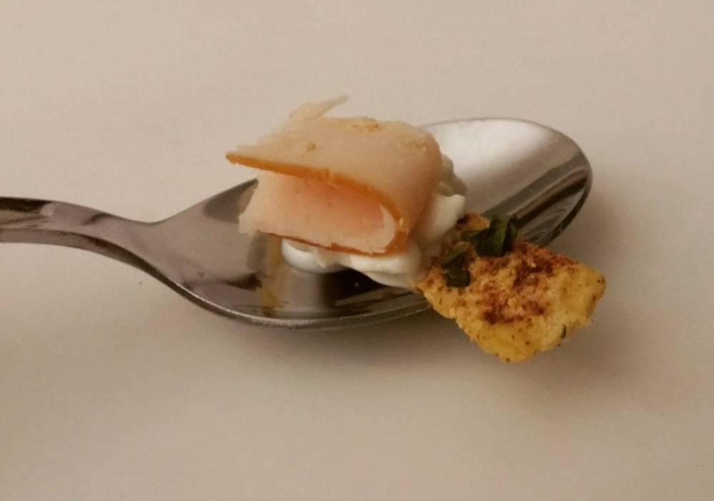 #spuntino #break #tofu #chips #fiocchidilatte #affettato #cucchiaio #spoon #dukan #diet #lightfood #highprotein #lowfat #lowcarb #cucinaproteica #cucinadulight