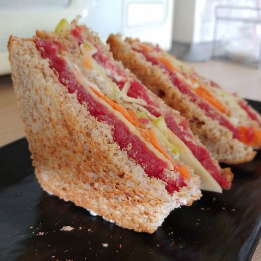 #clubsandwich #lightfood #paneintegrale #goldessa #tartare #zucchine #carote #gouda @lidlitalia #dukan #diet #fitness ##wayoflife #healthyfood #highprotein #lowfat #lowcarb #dieta #chef #cheflife #cucinaproteica #cucinadulight