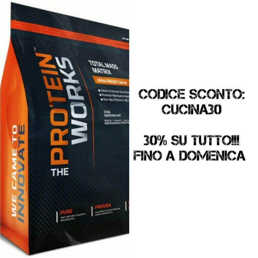 """Lo sapete che nel libro """"Cucina Dulight"""" abbiamo pubblicato una ricetta in collaborazione con TPW - The Protein Works? Per festeggiare questa collaborazione, l'azienda offre a dilight uno sconto speciale del 30% su TUTTO! Basta usare il nuovo codice CUCINA30 valido fino a questa domenica! Link in biblio! #fitness #protein #protal #palestra #dukan #diet #highprotein #lowcarb #lowfat #cucinaproteica #cucinadulight @theproteinworks @theproteinworksitalia"""