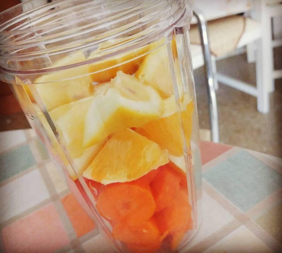 #ace #succo #juice #lemon #orange #carrots #nutriblitzer #sea #summer #fresh #dukan #diet #cucinaproteica #cucinadulight #lightfood #homemade #homemadefood #salute #cibo #cibosano #vitamine