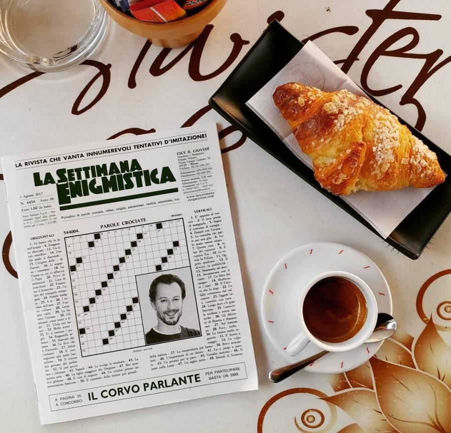 #breakfast #jesolo #jesolobeach #settimanaenigmistica #caffe #brioche #sun #summer #vacanza #mare #dukan #diet #quartafase #weightloss #cucinadulight