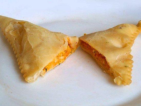 Barbagiuai (Ravioli di zucca fritti )