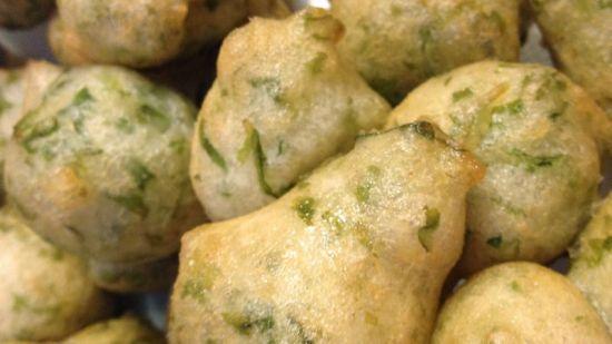 Friscieu d'erbetta (Frittelle con verdure)