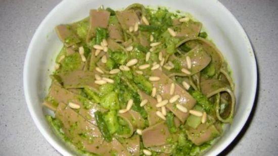 Lasagne de faenn-a dòce (Lasagne di farina di castagne)
