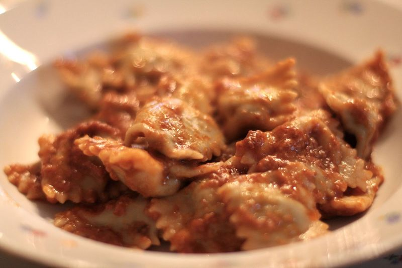 Raieu de carne (Ravioli di carne)