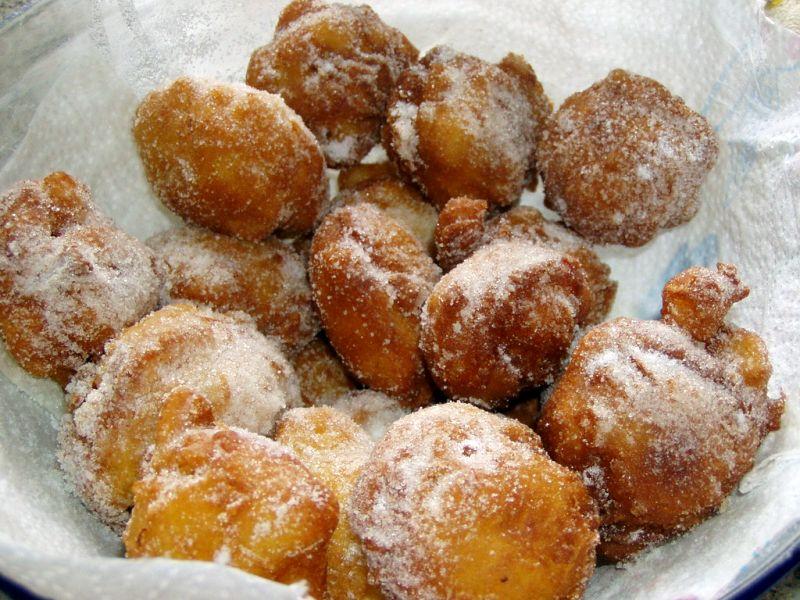 Friscièu dòci (Frittelle dolci) seconda ricetta