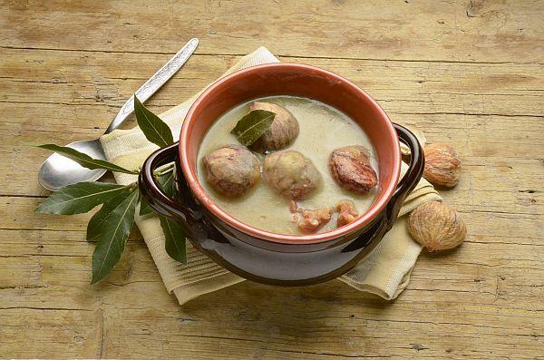 Menestron de castagne (Minestrone di castagne)