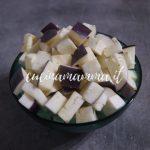 Melanzane e patate gratinate al forno