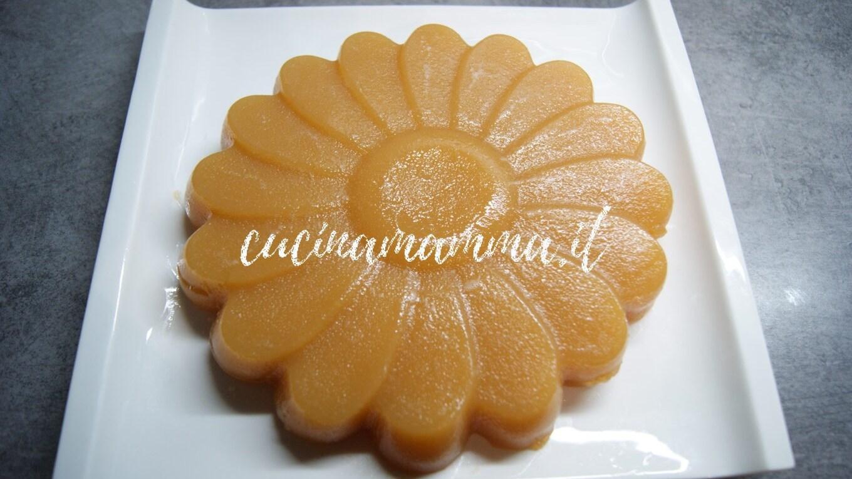 budino al mandarino