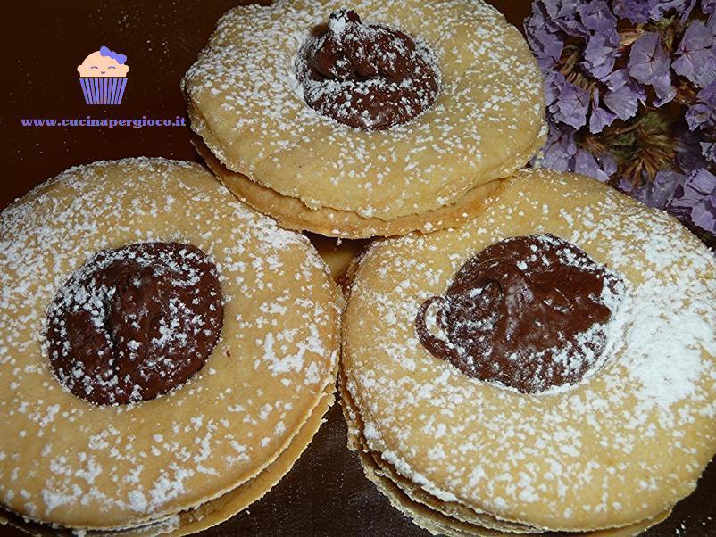 cucinapergioco biscotti con nutella