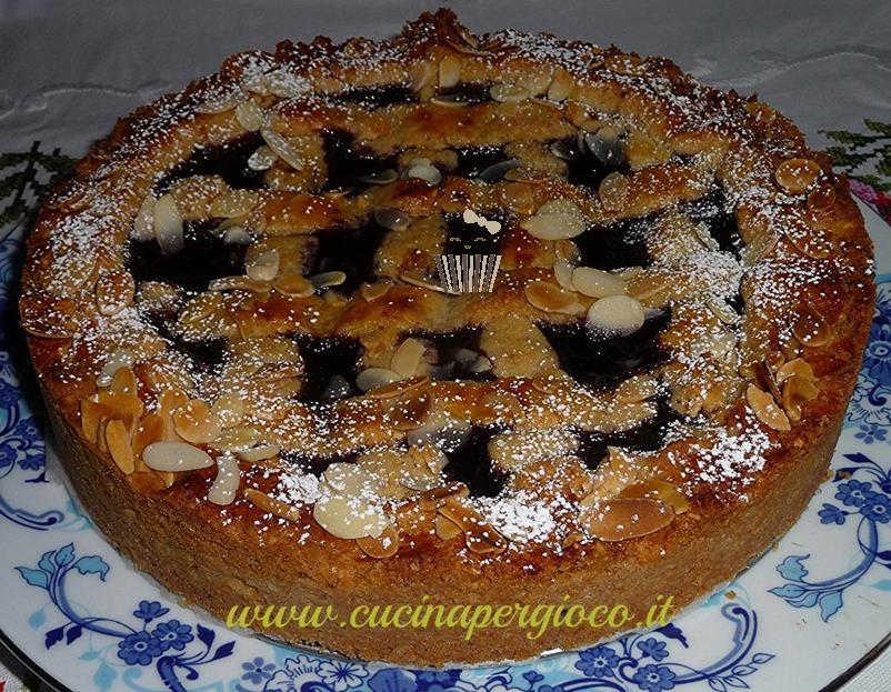 cucinapergioco torta Linzer