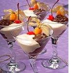 Dessert alle due creme