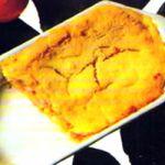 Lasagne gratinate con pesce e zucchine.