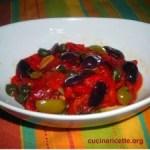 Peperoni capperi ed olive
