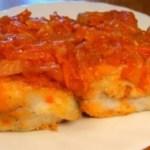 Pesce persico fritto marinato