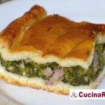Torta rustica broccoli e salsiccia