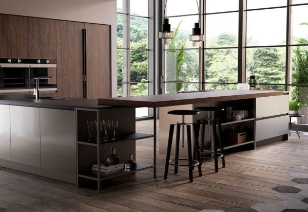 L'isola è un elemento essenziale delle cucine moderne, soprattutto delle cucine americane, perché permette di includere sgabelli dallo stile moderno e altri. Cucine Stile Moderno Cucinenonsolo