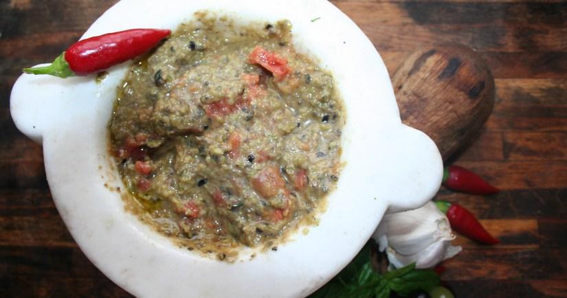 pesto di olive
