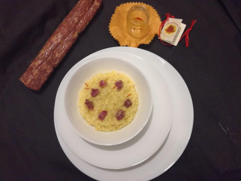 risotto contaminato dal salame d'oca