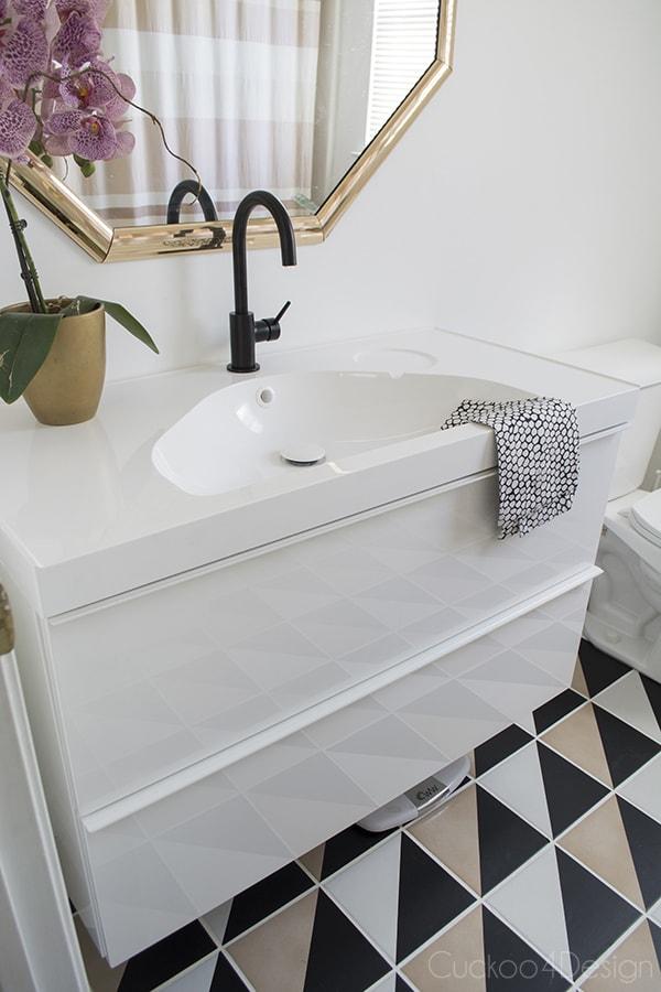 ikea bathroom faucet black - thedancingparent