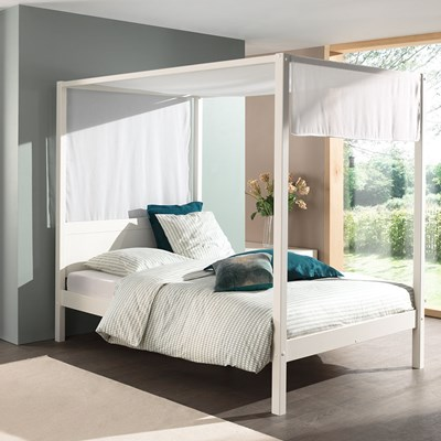Pino Four Poster Double Bed Cuckooland Cuckooland